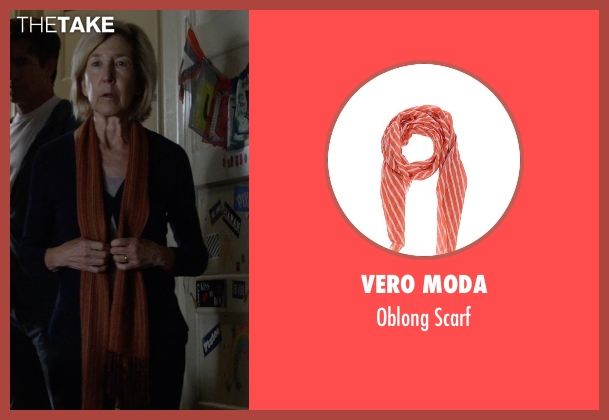 Vero Moda orange scarf from Insidious: Chapter 3 seen with Lin Shaye (Elise Rainier)