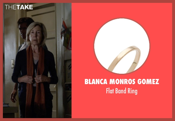 Blanca Monros Gomez ring from Insidious: Chapter 3 seen with Lin Shaye (Elise Rainier)