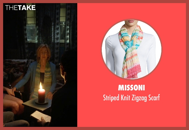 Missoni scarf from Insidious: Chapter 3 seen with Lin Shaye (Elise Rainier)