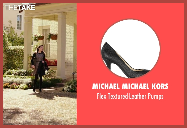 Michael Michael Kors black pumps from Daddy's Home seen with Linda Cardellini (Unknown Character)