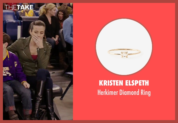 Kristen Elspeth gold ring from Daddy's Home seen with Linda Cardellini (Unknown Character)