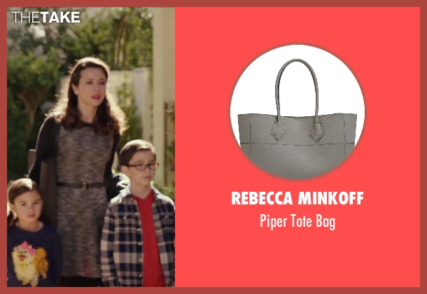Rebecca Minkoff gray bag from Daddy's Home seen with Linda Cardellini (Unknown Character)