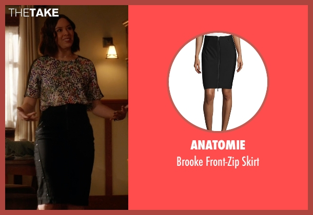 Anatomie black skirt from The Flash seen with Linda Park (Malese Jow)