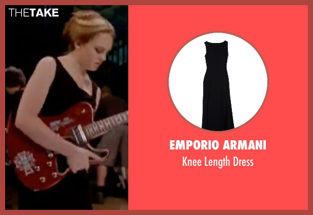 Emporio Armani black dress from Freaky Friday seen with Lindsay Lohan (Anna Coleman)