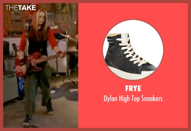 Frye black sneakers from Freaky Friday seen with Lindsay Lohan (Anna Coleman)