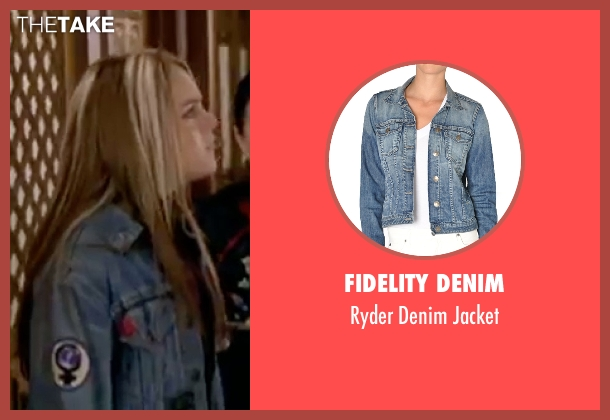 Fidelity Denim blue jacket from Freaky Friday seen with Lindsay Lohan (Anna Coleman)