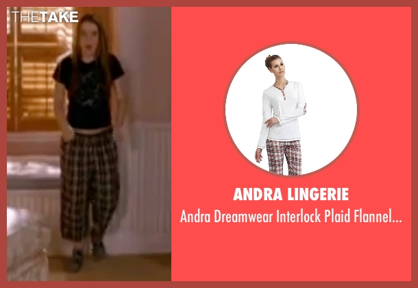 Andra Lingerie brown pants from Freaky Friday seen with Lindsay Lohan (Anna Coleman)