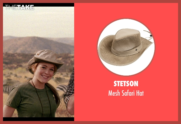 Stetson beige hat from Mean Girls seen with Lindsay Lohan (Cady Heron)