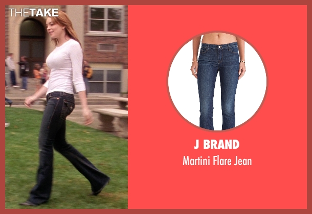 J Brand blue jean from Mean Girls seen with Lindsay Lohan (Cady Heron)