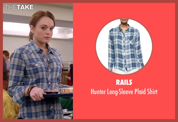Rails blue shirt from Mean Girls seen with Lindsay Lohan (Cady Heron)