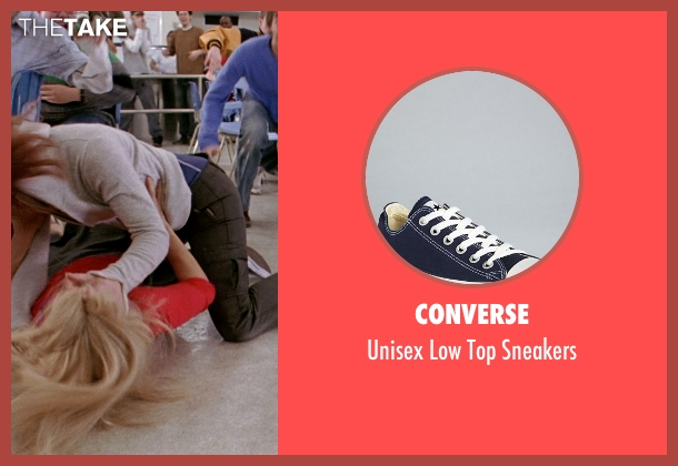 Converse blue sneakers from Mean Girls seen with Lindsay Lohan (Cady Heron)