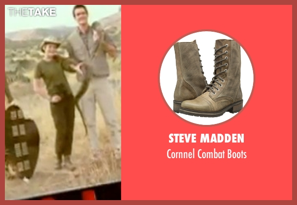 Steve Madden brown boots from Mean Girls seen with Lindsay Lohan (Cady Heron)