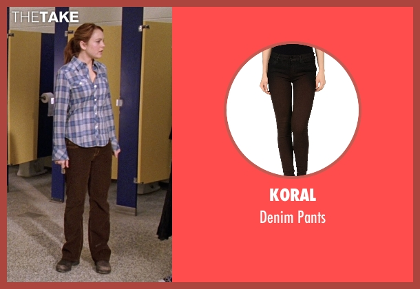 Koral brown pants from Mean Girls seen with Lindsay Lohan (Cady Heron)
