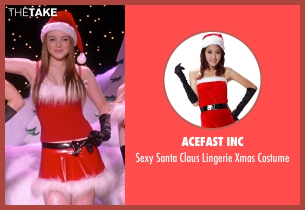 Acefast Inc costume from Mean Girls seen with Lindsay Lohan (Cady Heron)