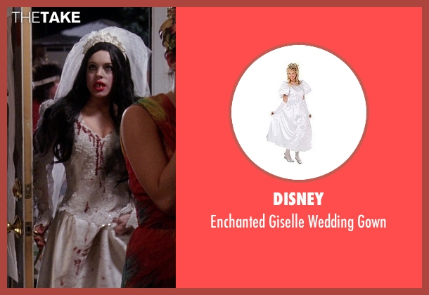 Disney white gown from Mean Girls seen with Lindsay Lohan (Cady Heron)