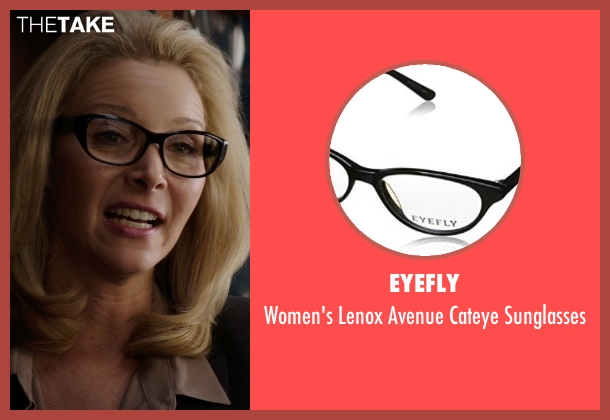 Eyefly black sunglasses from Neighbors seen with Lisa Kudrow (Dean Carol Gladstone)