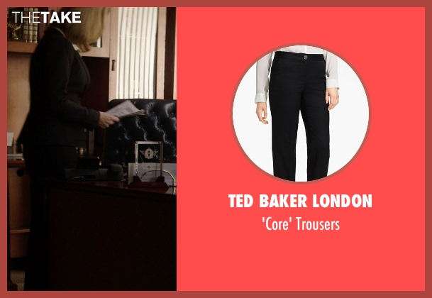 Ted Baker London black trousers from Neighbors seen with Lisa Kudrow (Dean Carol Gladstone)