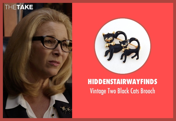 HiddenStairwayFinds brooch from Neighbors seen with Lisa Kudrow (Dean Carol Gladstone)