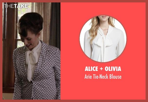 Alice + Olivia white blouse from Neighbors