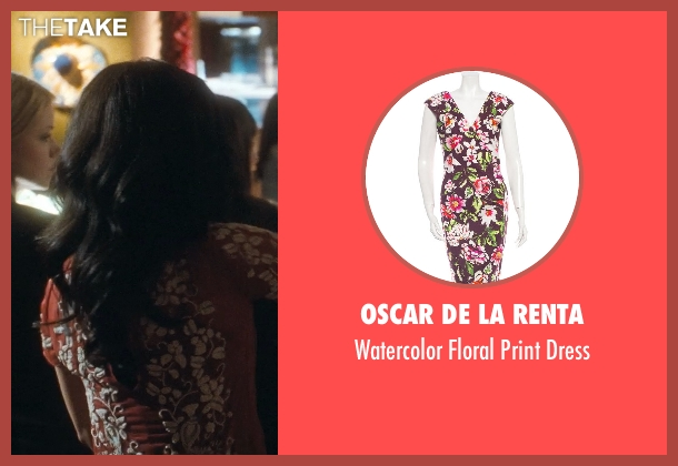 Oscar De La Renta red dress from Crazy, Stupid, Love. seen with Liza Lapira (Liz)