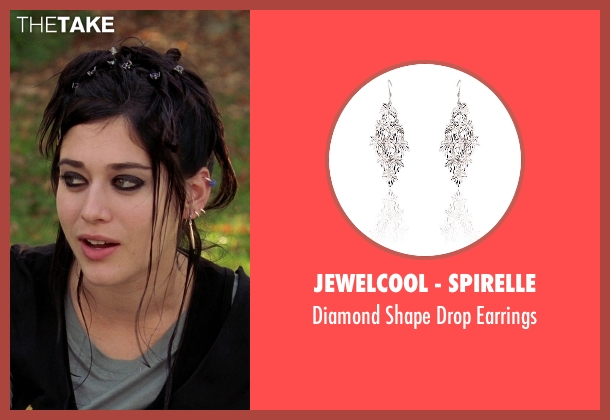 JewelCool - Spirelle silver earrings from Mean Girls seen with Lizzy Caplan (Janis Ian)