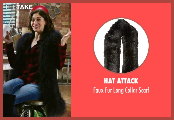 Hat Attack black scarf from Now You See Me 2 seen with Lizzy Caplan (Lula)