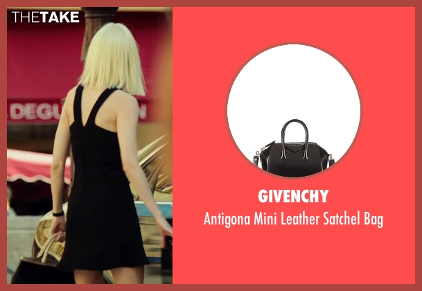 Givenchy black bag from The Transporter: Refueled seen with Loan Chabanol (Anna)