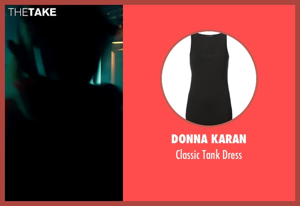 Donna Karan black dress from The Transporter: Refueled seen with Loan Chabanol (Anna)