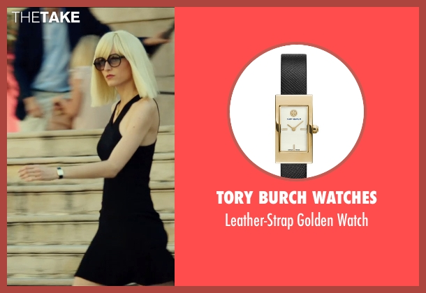 Tory Burch Watches black watch from The Transporter: Refueled seen with Loan Chabanol (Anna)
