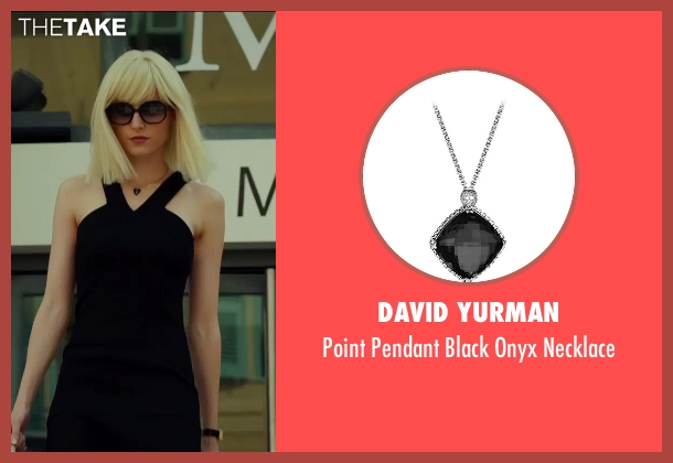David Yurman silver necklace from The Transporter: Refueled seen with Loan Chabanol (Anna)