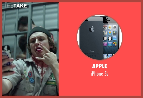 Apple 5s from Scout's Guide to the Zombie Apocalypse seen with Logan Miller (Carter)