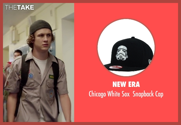 New Era black cap from Scout's Guide to the Zombie Apocalypse seen with Logan Miller (Carter)