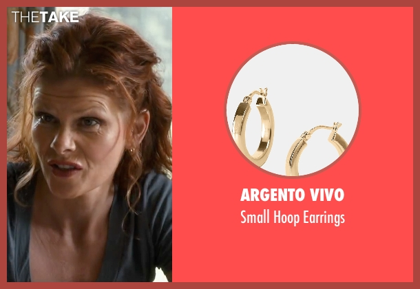 Argento Vivo gold earrings from The Longest Ride seen with Lolita Davidovich (Kate Collins)