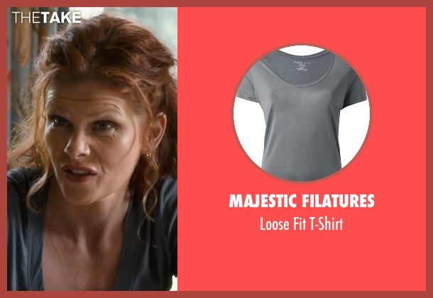 Majestic Filatures gray t-shirt from The Longest Ride seen with Lolita Davidovich (Kate Collins)