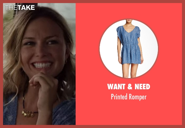 Want & Need blue romper from Flaked seen with London (Ruth Kearney)