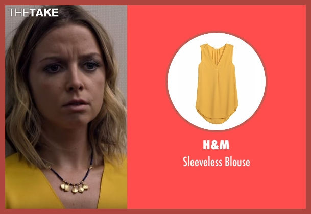 H&M yellow blouse from Flaked seen with London (Ruth Kearney)
