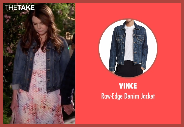 Vince blue jacket from Gilmore Girls: A Year in the Life seen with Lorelai Gilmore (Lauren Graham)