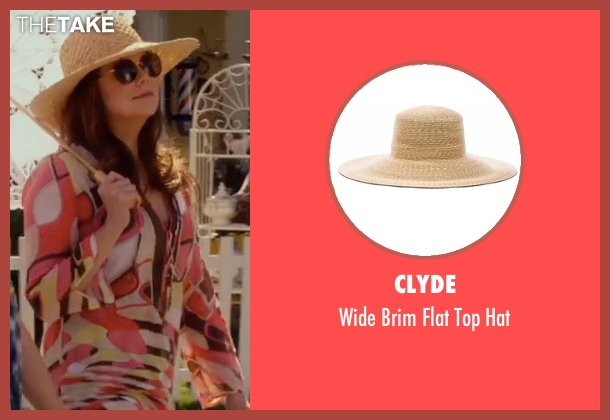 Clyde brown hat from Gilmore Girls: A Year in the Life seen with Lorelai Gilmore (Lauren Graham)