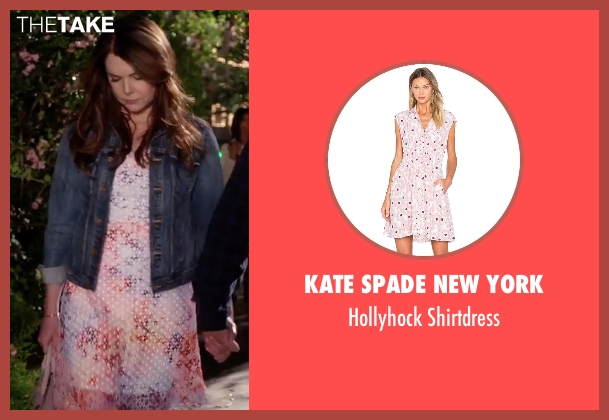 Kate Spade New York white shirtdress from Gilmore Girls: A Year in the Life seen with Lorelai Gilmore (Lauren Graham)