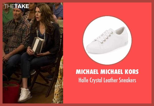 Vince white sneakers from Gilmore Girls: A Year in the Life seen with Lorelai Gilmore (Lauren Graham)