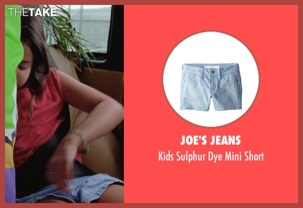 Joe's Jeans blue short from Boyhood seen with Lorelei Linklater (Samantha)