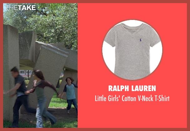 Ralph Lauren gray t-shirt from Boyhood seen with Lorelei Linklater (Samantha)