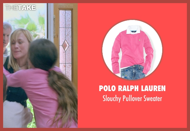 Polo Ralph Lauren pink sweater from Boyhood seen with Lorelei Linklater (Samantha)