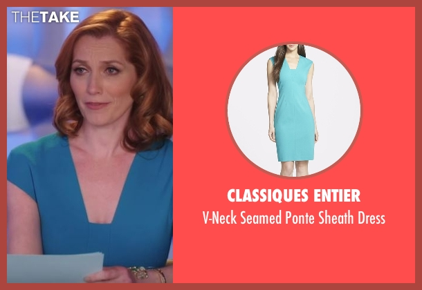 Classiques Entier blue dress from Notorious seen with Louise Herrick (Kate Jennings Grant)