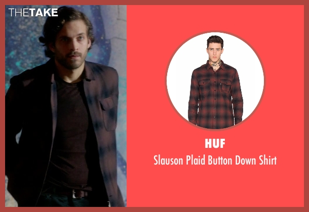 Huf black shirt from Guilt seen with Luc Pascal (Zachary Fall)