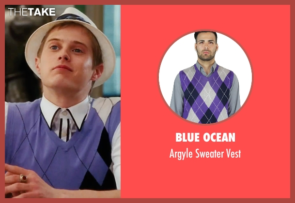 Blue Ocean purple vest from High School Musical 3: Senior Year seen with Lucas Grabeel (Ryan Evans)