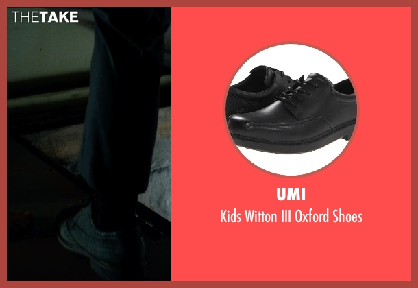 Umi black shoes from Sinister 2 seen with Lucas Jade Zumann (Milo)