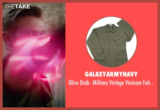 galaxyarmynavy shirt from X-Men: Days of Future Past seen with Lucas Till (Alex Summers / Havok)