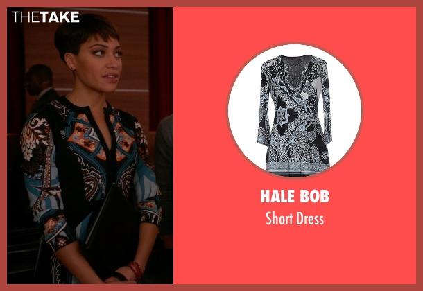 Hale Bob black dress from The Good Wife seen with Lucca Quinn  (Cush Jumbo)