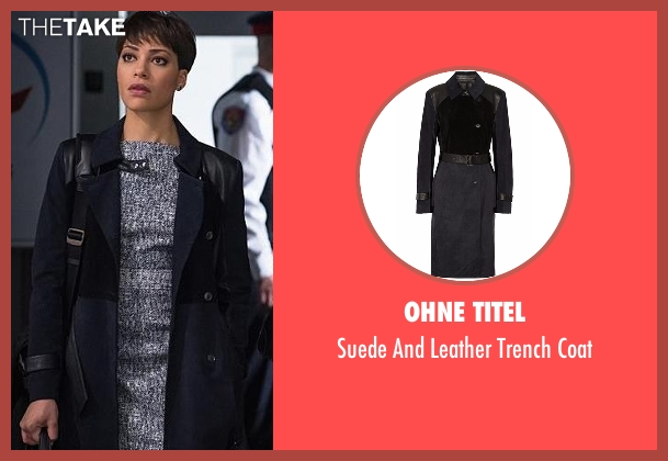 Ohne Titel blue coat from The Good Wife seen with Lucca Quinn  (Cush Jumbo)
